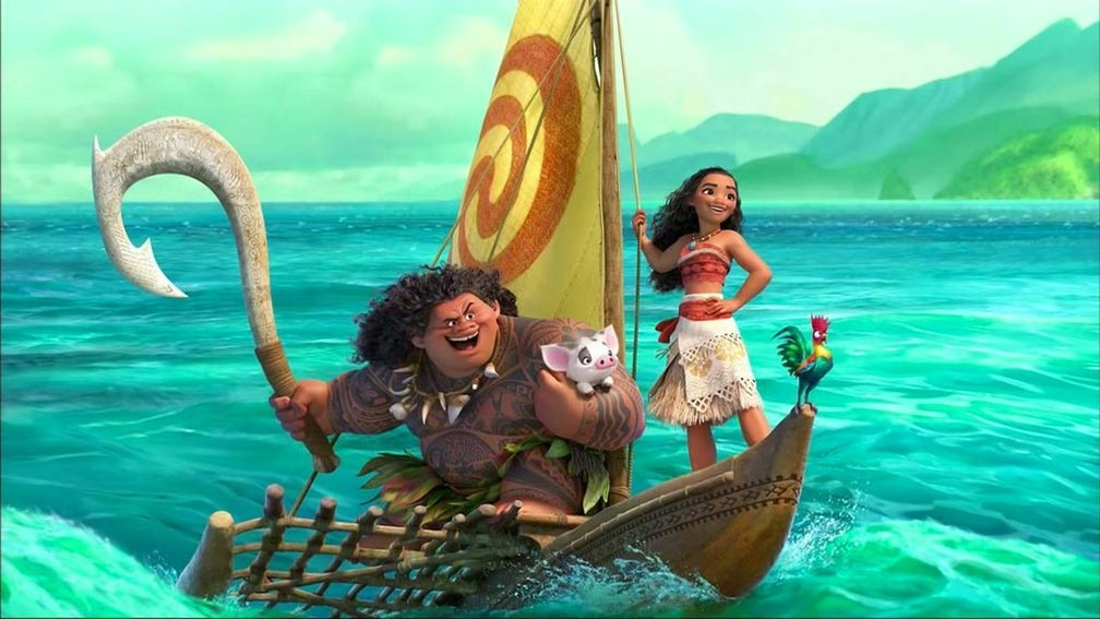 Moana Teaser Trailer Screencap #2