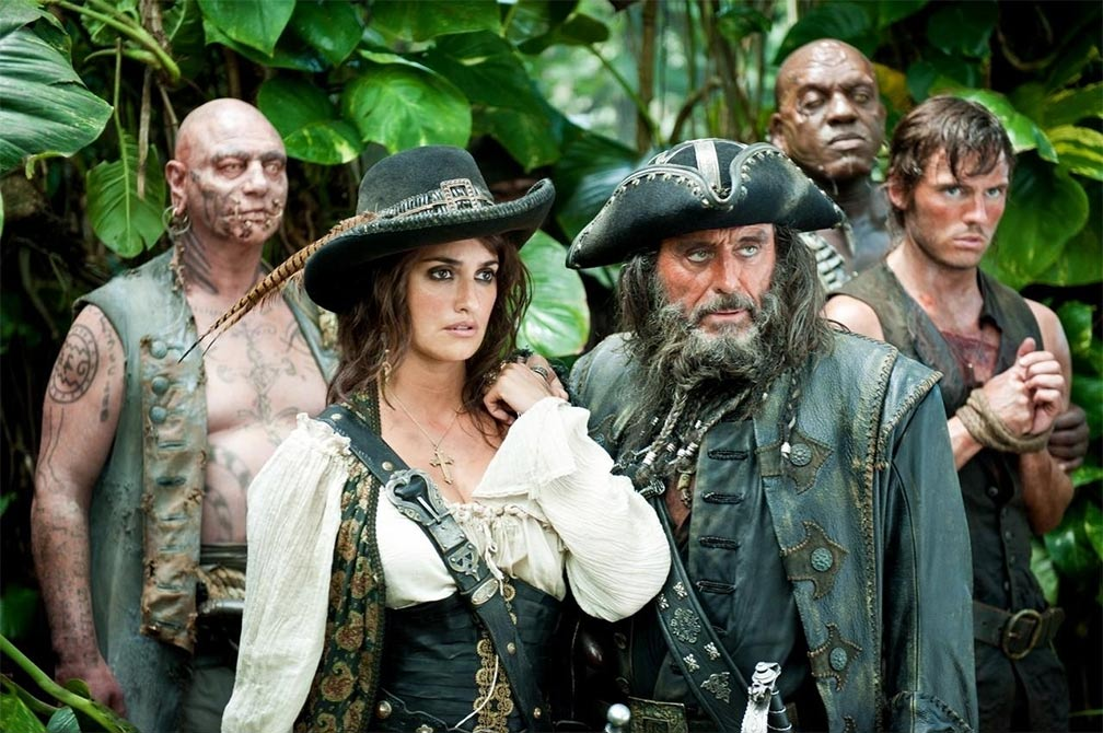 Pirates of the Caribbean: On Stranger Tides Trailer Screencap