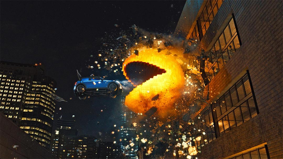 Pixels Trailer Screencap
