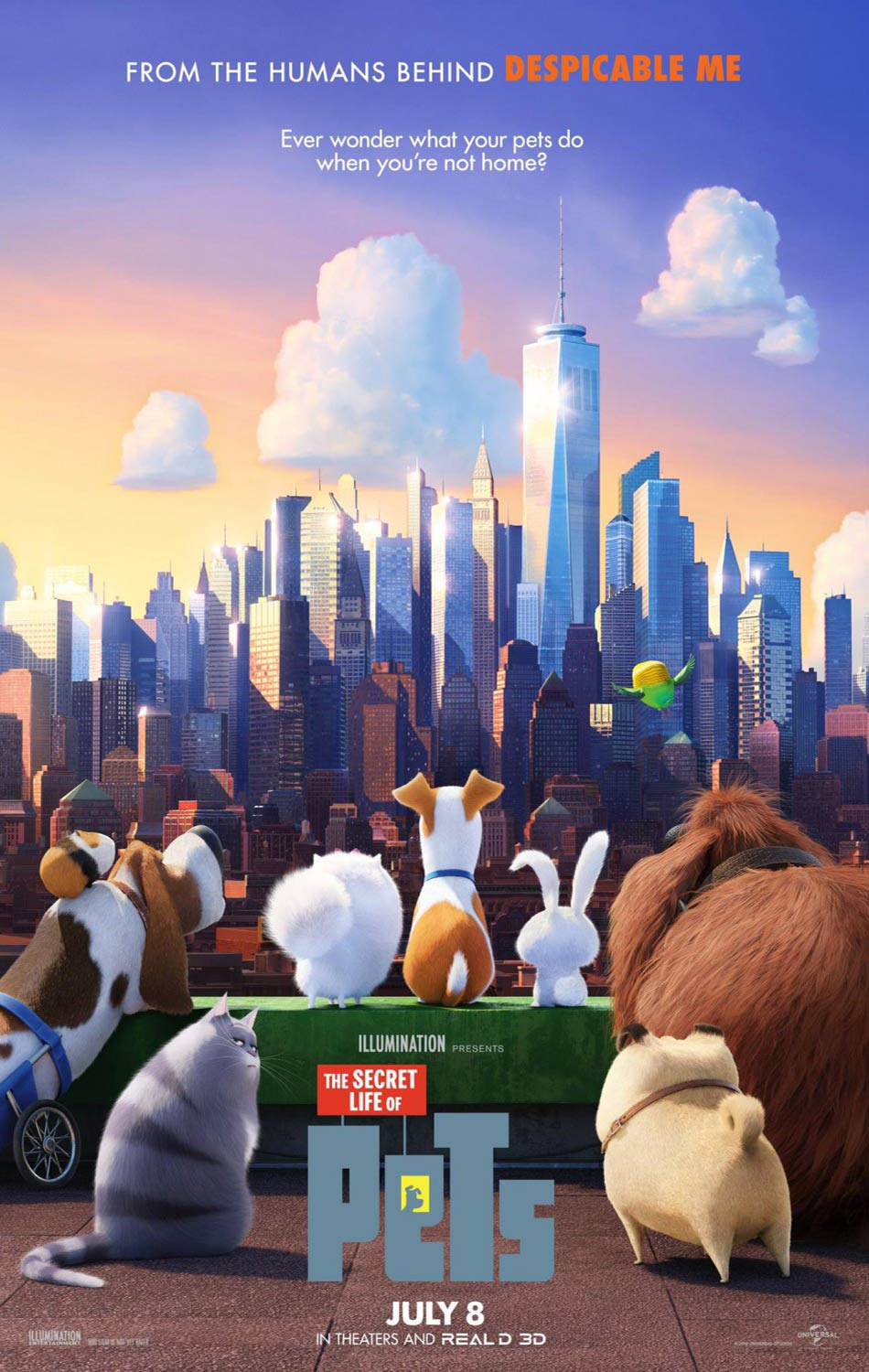 The Secret Life of Pets Poster 2