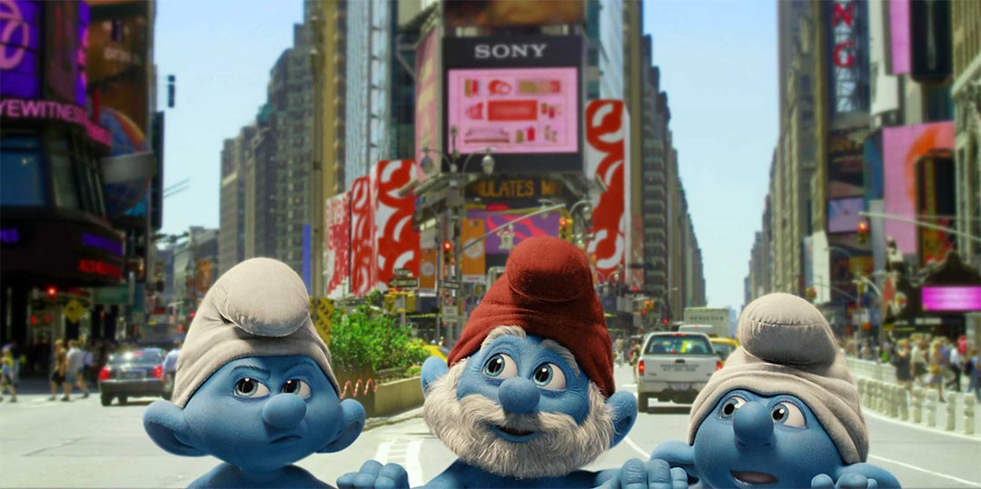 The Smurfs Teaser Trailer Screencap
