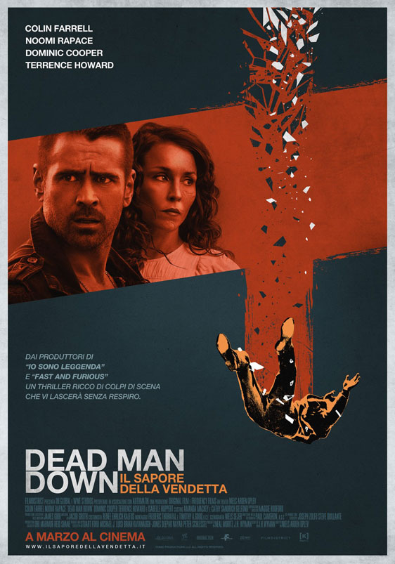 Dead Man Down Poster #3