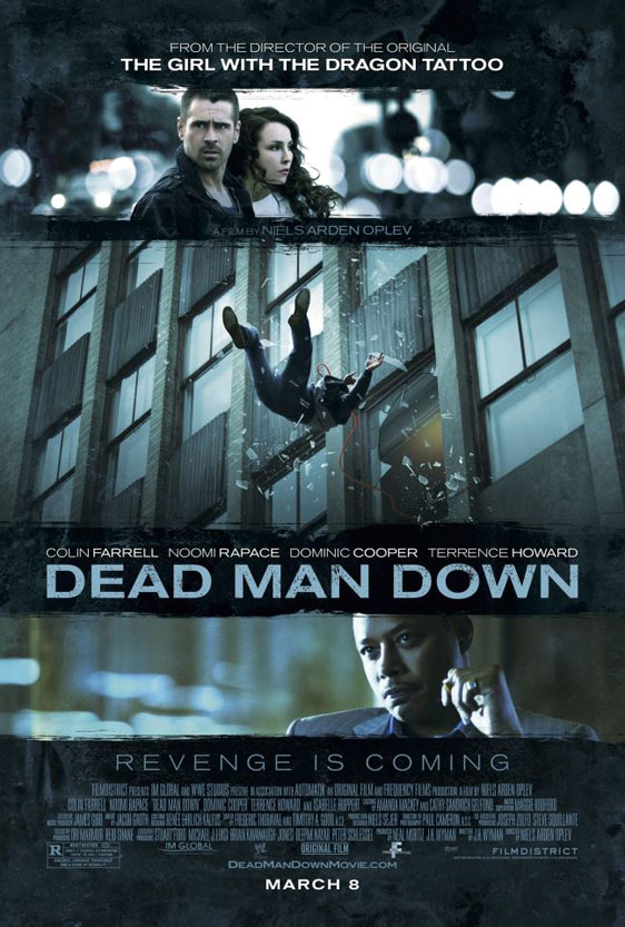 Dead Man Down Poster