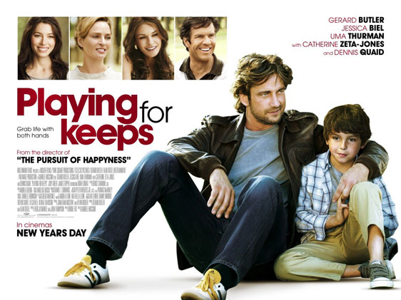 Playing For Keeps Poster #2