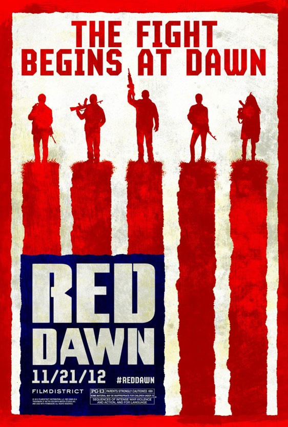 Red Dawn Poster #3