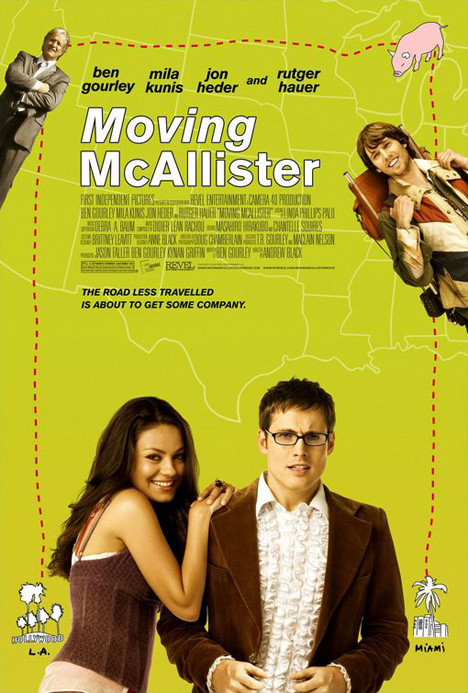 Moving McAllister Poster #1