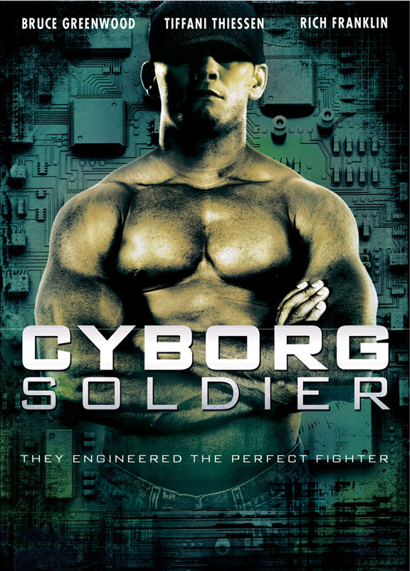 Cyborg Soldier Poster