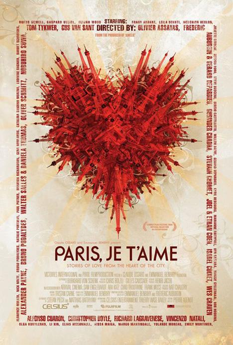 Paris, Je T'aime Poster