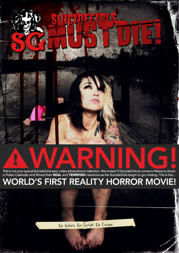 Suicide Girls Must Die Poster #2