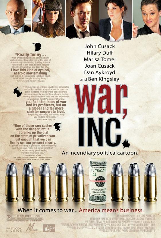 War, Inc. Poster #3