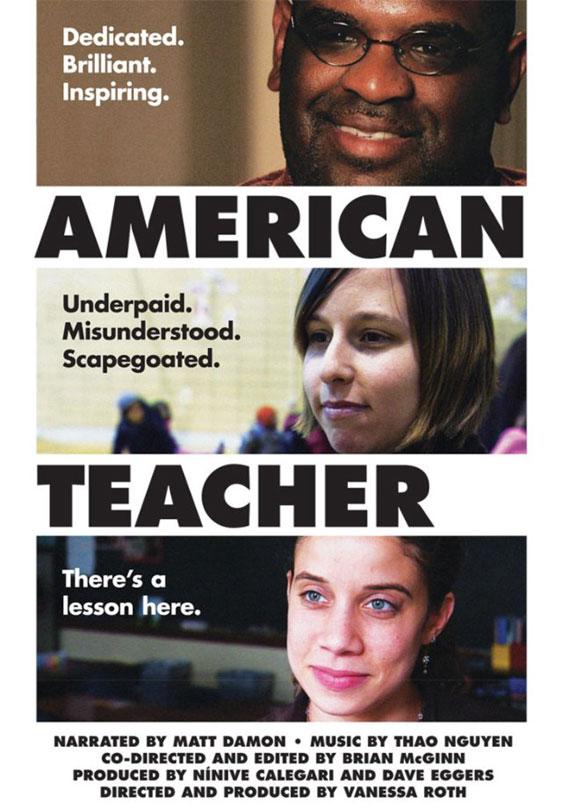 American Teacher Poster #1