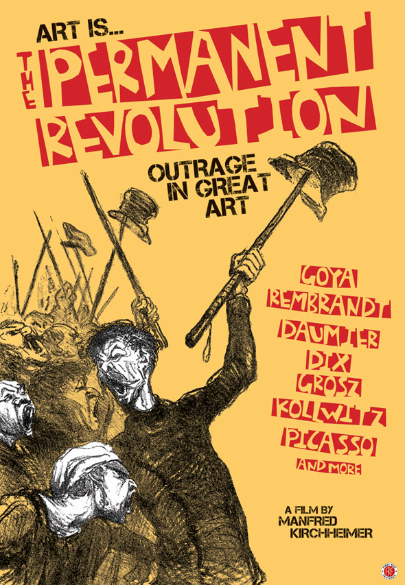 Art Is...The Permanent Revolution Poster