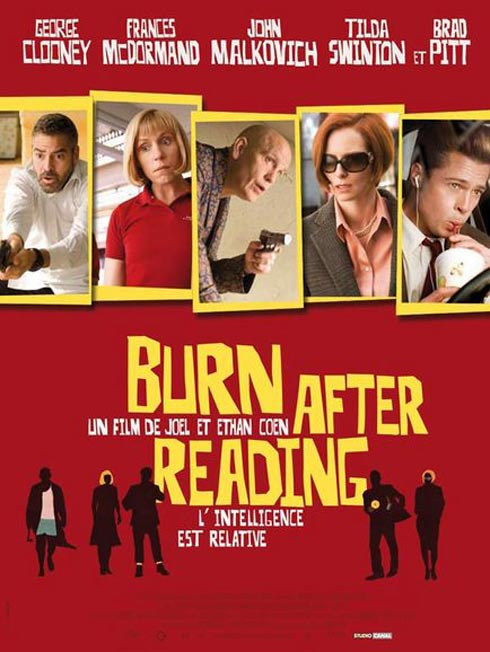 Burn After Reading Poster #6