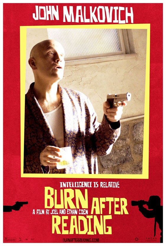 Burn After Reading Poster #8
