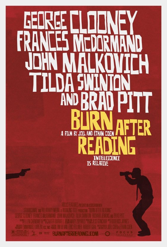 Burn After Reading Poster #1
