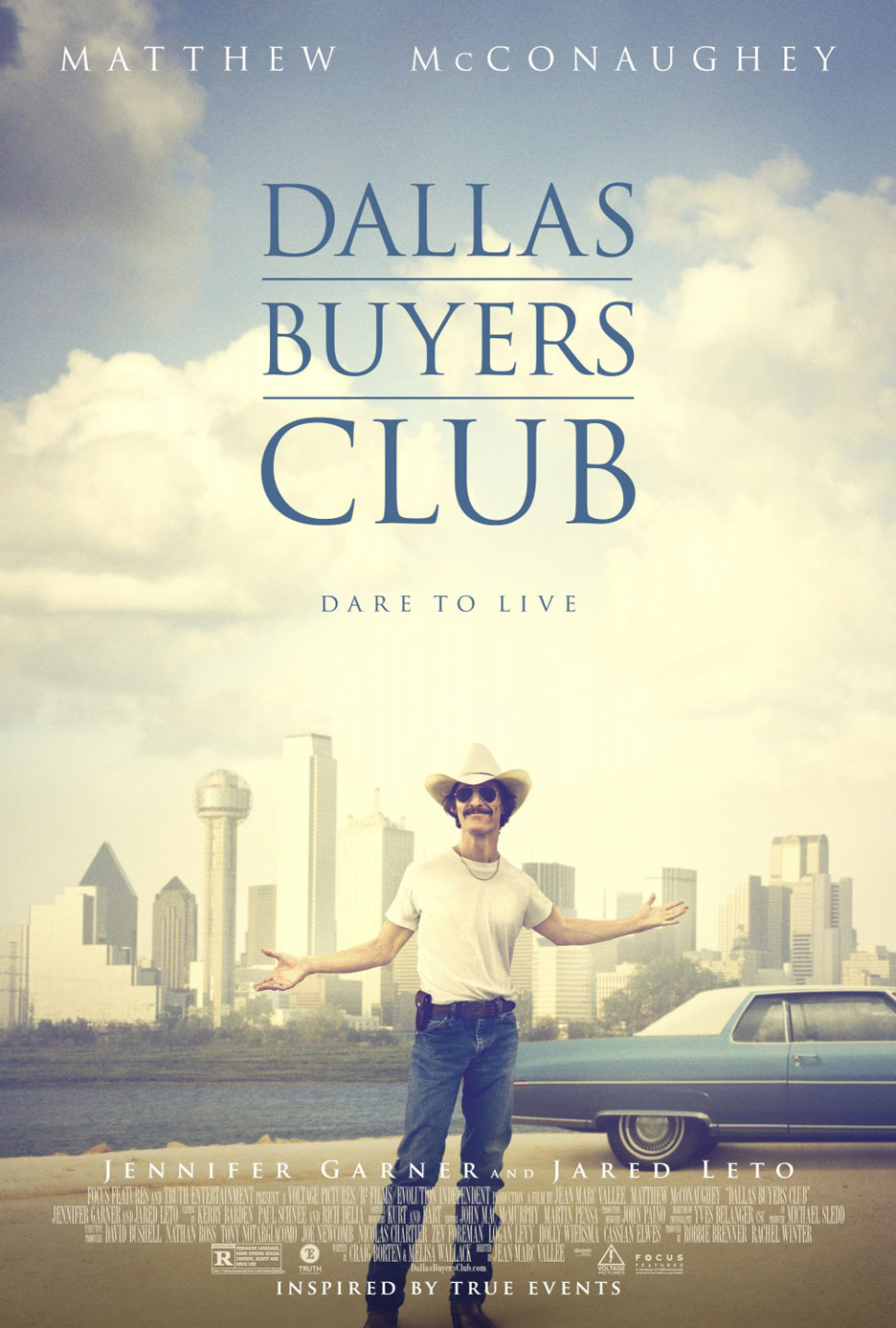 Dallas Buyers Club Poster #2