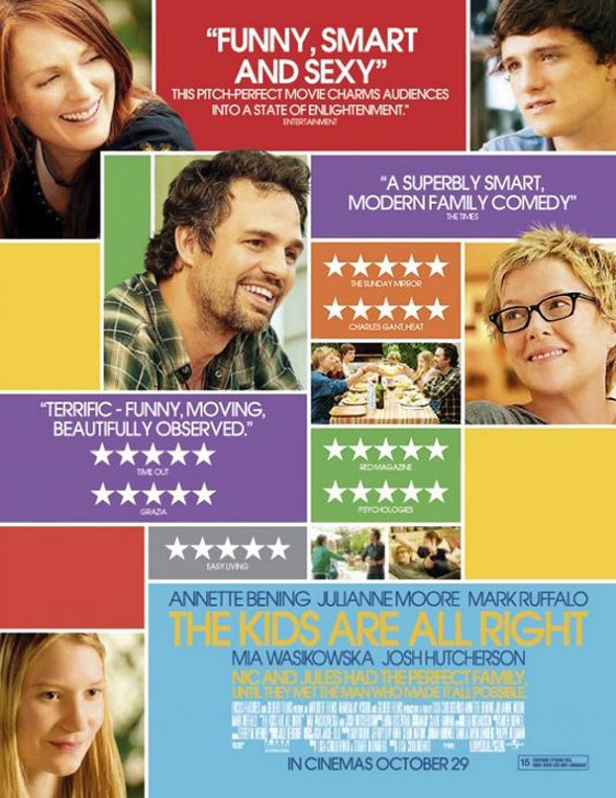 The Kids Are All Right Poster #2