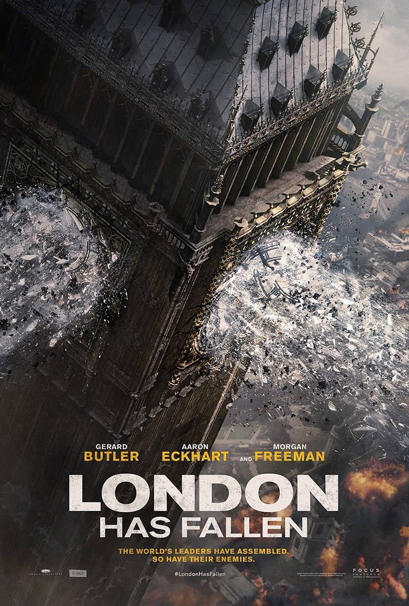 مشاهدة فيلم 2016 London Has Fallen  مترجم اون لاين و تحميل مباشر
