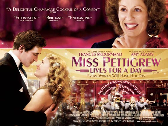 Miss Pettigrew Lives for a Day Poster #2