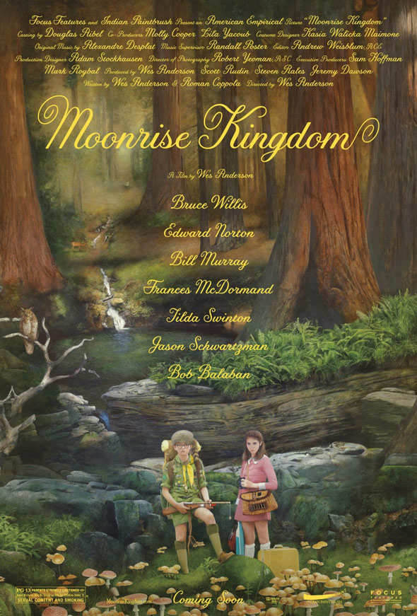 Moonrise Kingdom Poster #2