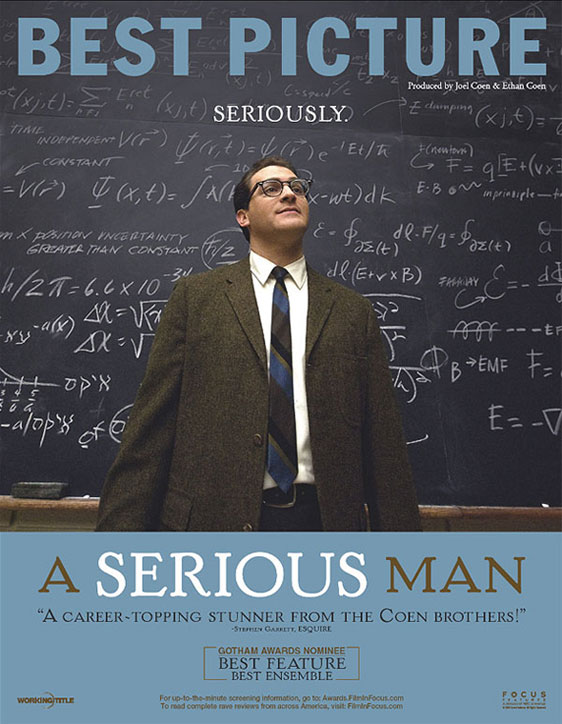 A Serious Man Poster #2