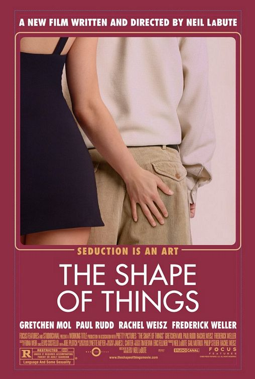 The Shape of Things Poster