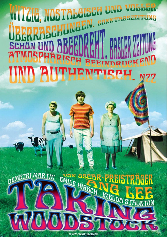 Taking Woodstock Poster #4