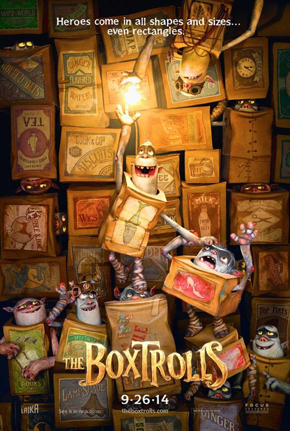 The Boxtrolls Poster #1