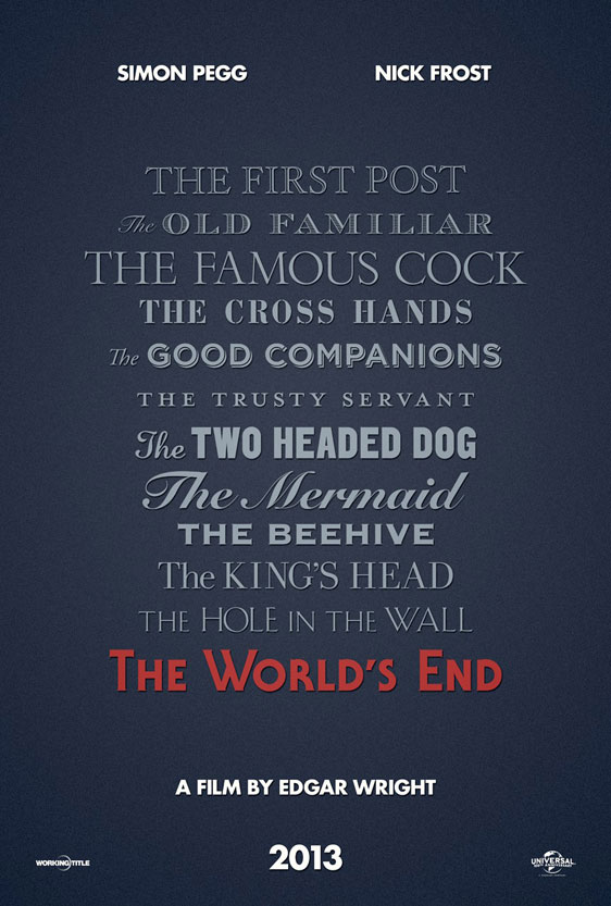 The World's End Poster #2