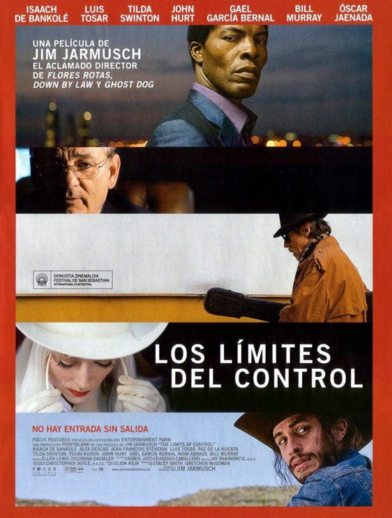 The Limits of Control Poster #4