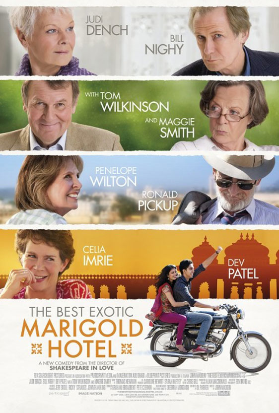 The Best Exotic Marigold Hotel Poster #2