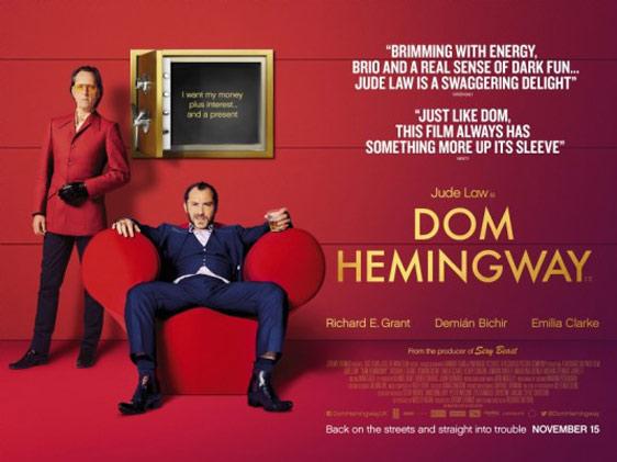 Dom Hemingway Poster #2