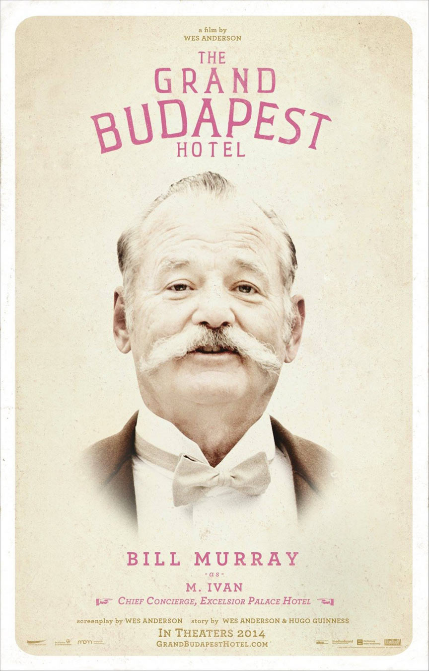 The Grand Budapest Hotel Poster #10