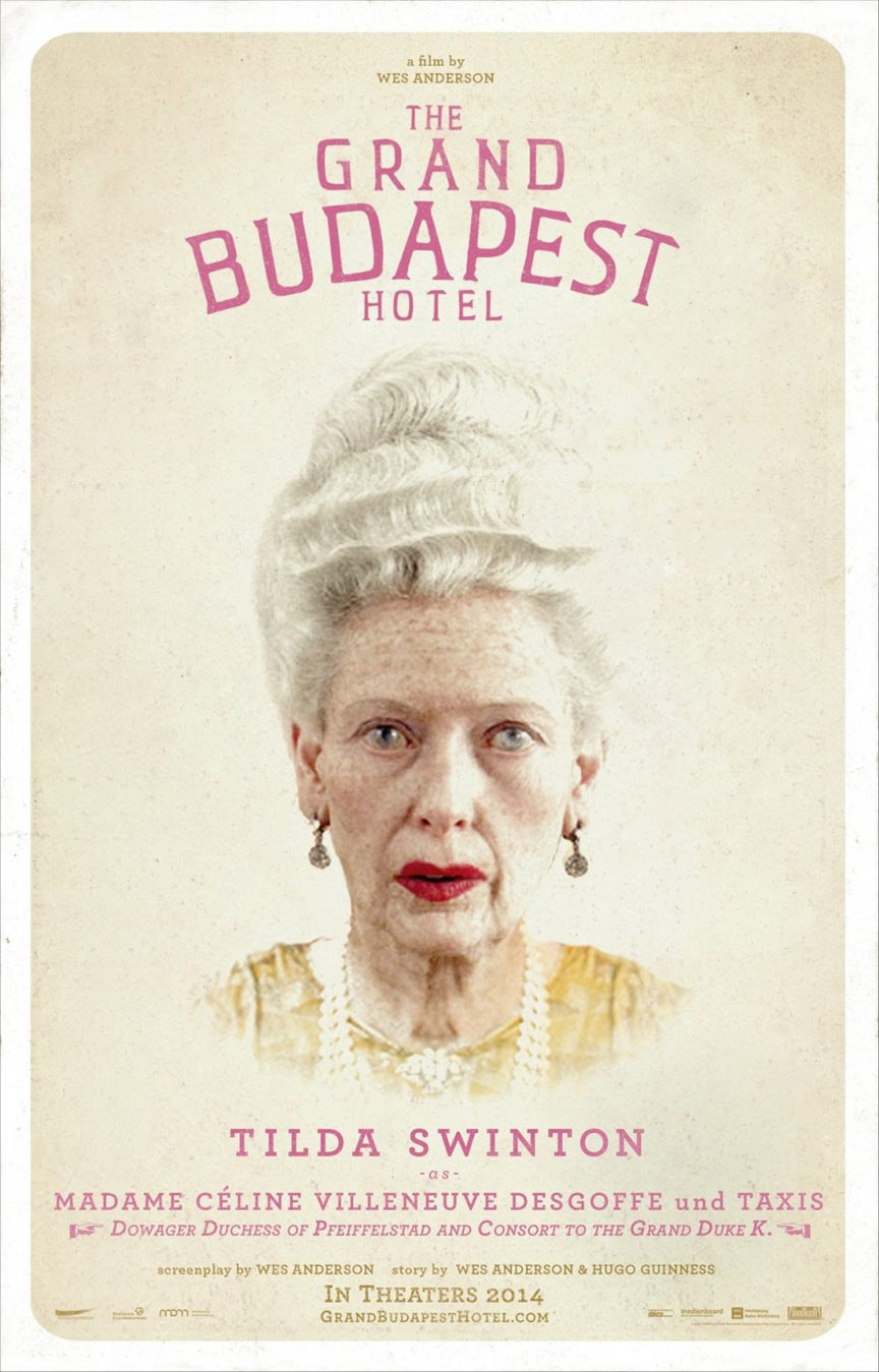 The Grand Budapest Hotel Poster #12
