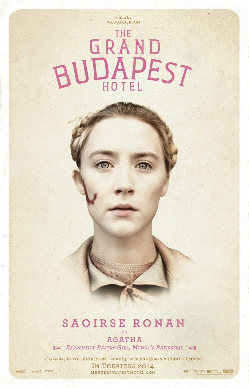 The Grand Budapest Hotel Poster #3