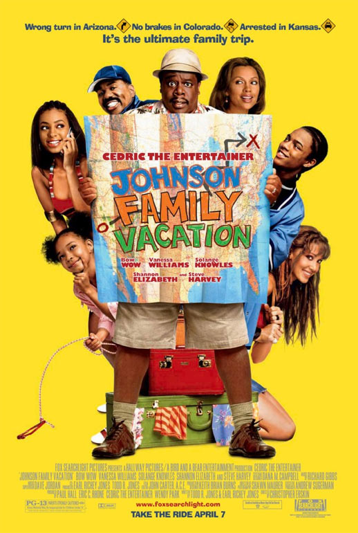 Johnson Family Vacation Poster