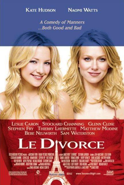 Le Divorce Poster #1