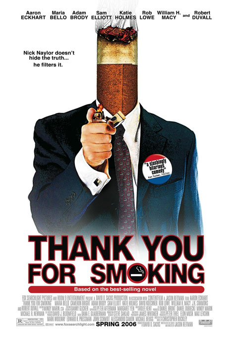 Thank You for Smoking Poster #1