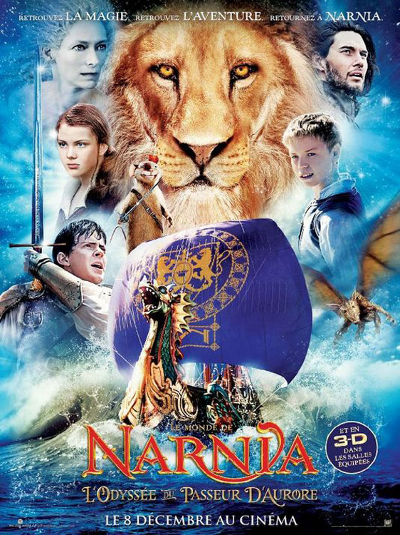 The Chronicles of Narnia: The Voyage of the Dawn Treader Poster #3