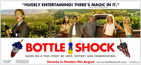 Bottle Shock Poster #3