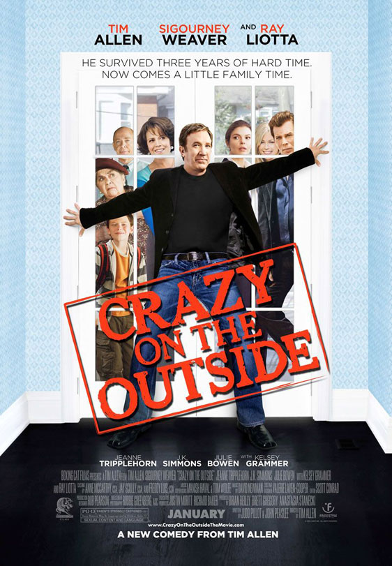 Crazy on the Outside Poster #1