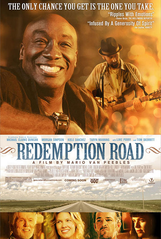 Redemption Road (Black, White and Blues) Poster #1
