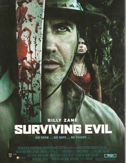 Surviving Evil Poster #1