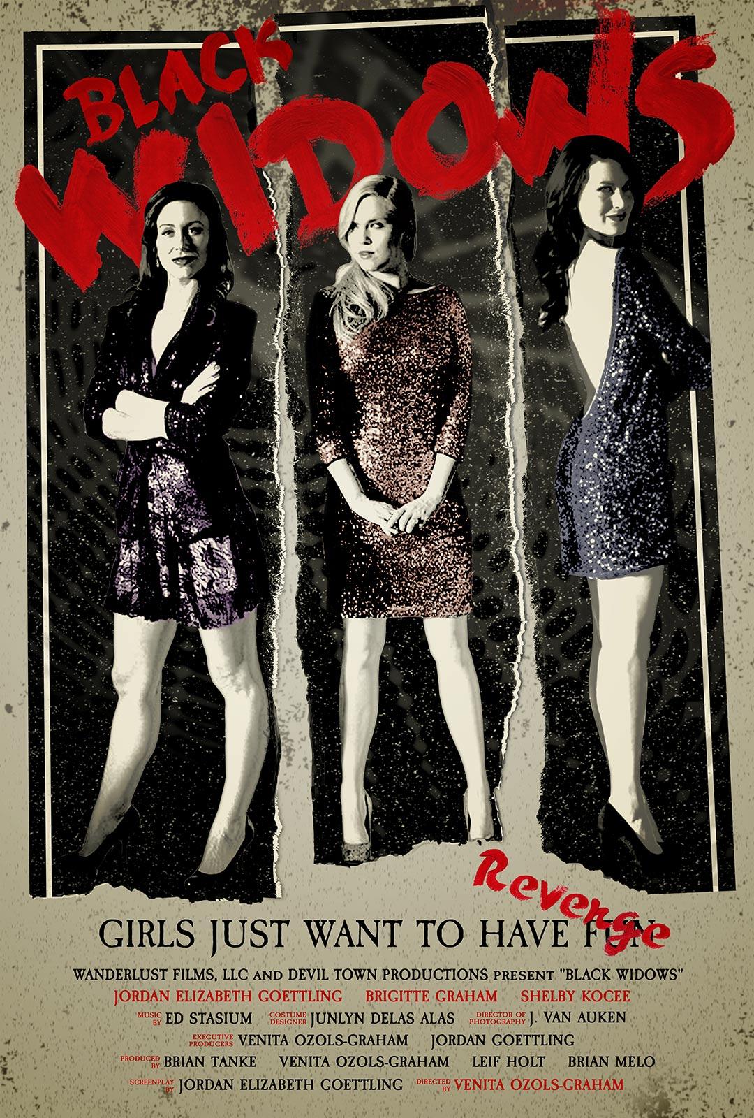 black widows 2016 poster 1 trailer addict