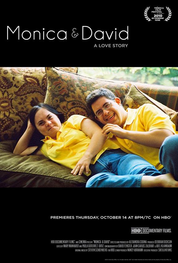 Monica & David Poster