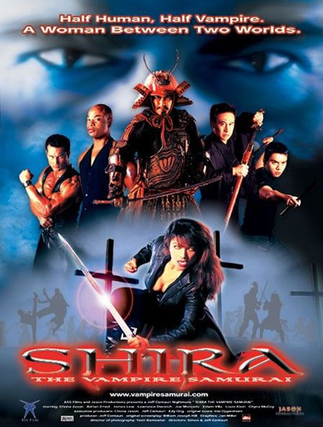 Shira the Vampire Samurai Poster