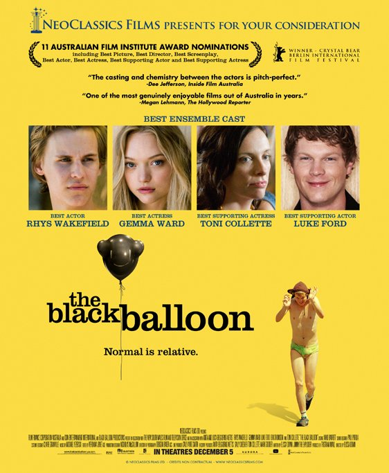 The Black Balloon Poster #1