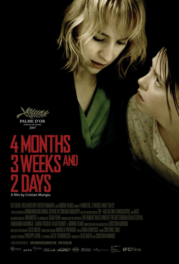 4 Months, 3 Weeks and 2 Days Poster #2