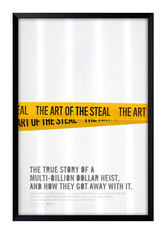 The Art of the Steal Poster #2