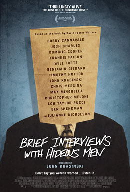 Brief Interviews with Hideous Men Poster #1